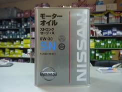 Nissan. Вязкость 5W30, гидрокрекинговое