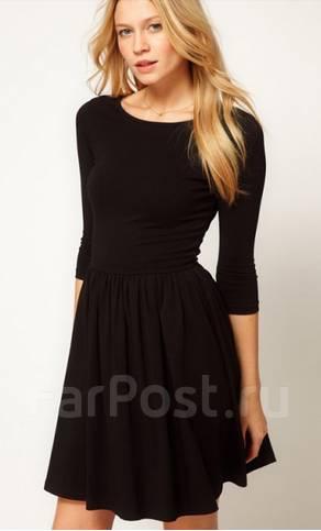 bbaca411f77f71a Черные платья рукава 3 четверти - Модадром