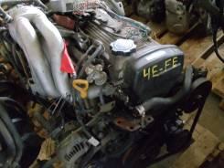 Двигатель в сборе. Toyota Tercel, EL51 Двигатель 4EFE