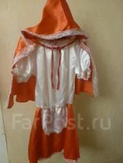 Костюм праздничный(красная шапочка). Рост: 128-134 см