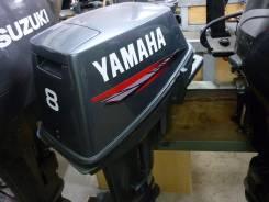 Yamaha. 8,00л.с., 2х тактный, бензин, нога S (381 мм), Год: 2003 год