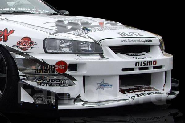 Обвес кузова аэродинамический. Nissan Skyline, ENR34, HR34, ER34, BNR34
