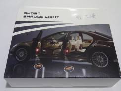 Лазерная проекция логотипа в двери авто Mercedes-Benz