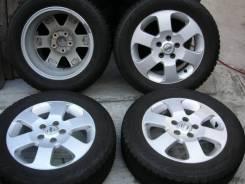 Nissan. 6.0x16, 5x114.30, ET45, ЦО 66,0мм.