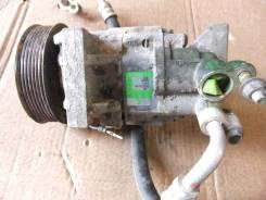 Компрессор кондиционера. Nissan Tiida, CS11 Двигатель HR15DE