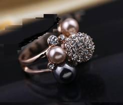 Элитная Бижутерия реплика Dior Кольцо золото18К Swarovski