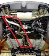 Пайп. Subaru Impreza, GH8, GRB, GRF Двигатели: EJ25, EJ20