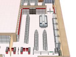 Изготовление дизайн-проектов расстановки оборудование в 3D