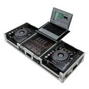 Рэк кейс для 2 х Pioneer CDJ-900 и 1х DJM900+Notebook