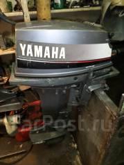 Yamaha. 9,90л.с., 2х тактный, бензин, нога L (508 мм), Год: 1991 год