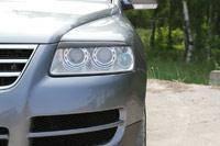 Накладка на фару. Volkswagen Touareg, 7LA, 7L6, 7L7 Двигатели: BWF, BLE, BMV, BPE, BKS, BKJ, BAC, CFRA, AXQ, BJN, BHK, BRJ, BLK, AZZ, BAA, AYH, BMX, B...