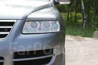 Накладка на фару. Volkswagen Touareg, 7L6, 7L7, 7LA Двигатели: AXQ, AYH, AZZ, BAA, BAC, BHK, BHL, BJN, BKJ, BKS, BLE, BLK, BMV, BMX, BPD, BPE, BRJ, BW...