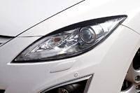 Накладка на фару. Mazda Mazda6 Mazda Atenza, GH5FS, GH5AS, GH5AW, GH5FW, GHEFW Двигатели: L5VE, LFVD