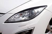 Накладка на фару. Mazda Atenza, GH5AP, GH5FS, GH5AW, GH5AS, GHEFP, GH5FW, GHEFS, GHEFW, GH5FP Mazda Mazda6 Двигатели: L5VE, LFVE