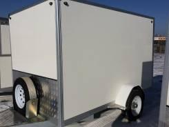 DVRV UT6X10. Прицеп фургон к легковому авто, 650кг.