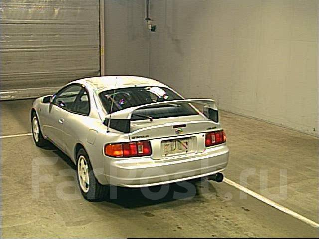 Выхлопная система. Toyota Celica, ST205