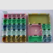 Бокс SMD большой прямоугольный 125 x 63 x 21.5 mm