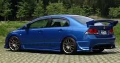 Обвес кузова аэродинамический. Honda Civic, FD1