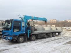 Эвакуатор, грузовик борт+кран 5 тонн.