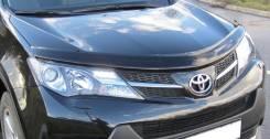 Дефлектор капота. Toyota RAV4, ASA42, ACA36W, QEA38, XA40, ASA38, QEA42, ZSA30, ALA49L, ASA44, ZSA35, GSA38, ASA44L, ACA31, ACA38L, GSA33, ZSA44L, ACA...