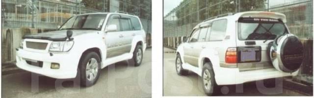 Порог пластиковый. Lexus LX470 Toyota Land Cruiser