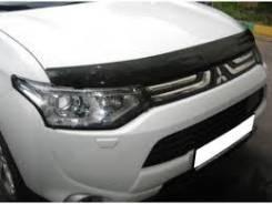 Дефлектор капота. Mitsubishi Outlander, 2012