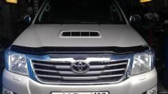Дефлектор капота. Toyota Hilux Pick Up