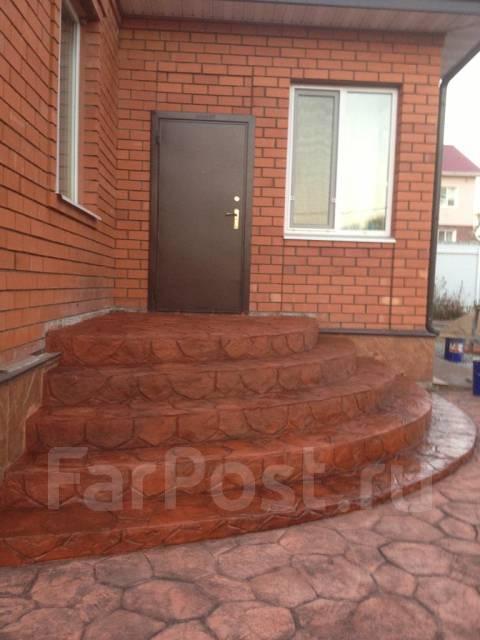 Брусчатка устарела - декоративный печатный бетон Artground!. Тип объекта дом, коттедж, срок выполнения неделя