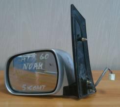 Зеркало заднего вида боковое. Toyota Noah, AZR60