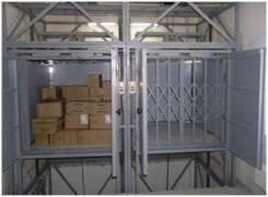 Подъемник грузовой Титан сервисный для складского помещения