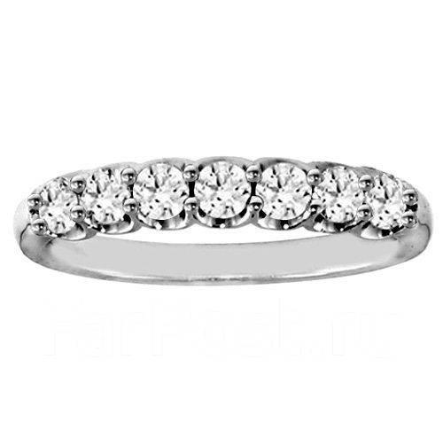 Продам новое обручальное кольцо с бриллиантами. 7 бриллиантов 0,8 к ... d867cf48013