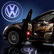 3D LED эмблемы в двери Volkswagen. Volkswagen Phaeton, 3D2