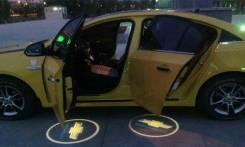 3D LED эмблемы в двери Chevrolet. Suzuki Chevrolet Cruize
