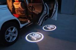 3D LED эмблемы в двери Toyota