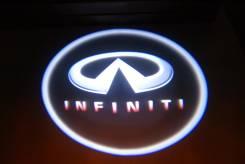 3D LED эмблемы в двери Infiniti