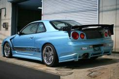 Крыло. Nissan Skyline