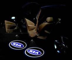 3D LED эмблемы в двери Kia