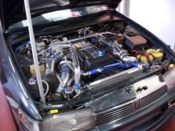 Планка радиатора. Toyota Cresta, JZX90 Двигатели: 1JZGTE, 1JZGE
