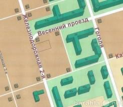 Участок 2-Железнодорожная. 767кв.м., собственность, электричество, вода. План (чертёж, схема) участка
