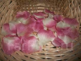Лепестки роз желто-феолетовые 600 штук! Супер цена