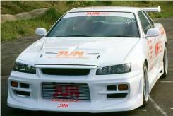 Бампер. Nissan Skyline, ENR34, HR34, ER34, BNR34