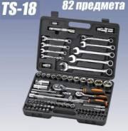 Отличный набор инструментов для автомобилиста Кратон TS-18, 82 предмет