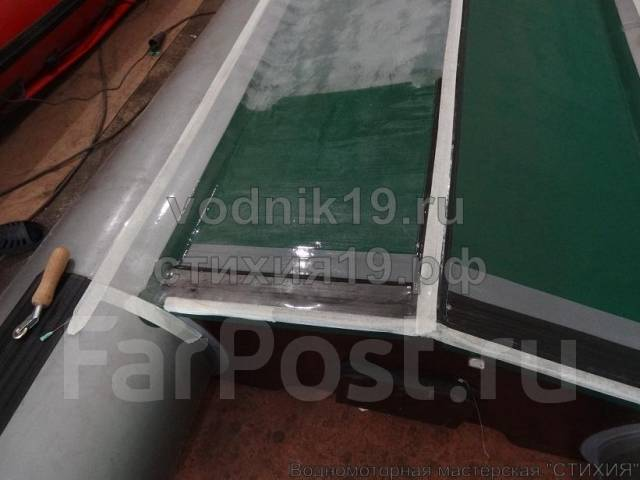 технология бронирования днища лодки пвх прозрачной пленкой