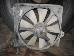 Вентилятор охлаждения радиатора. Toyota Corolla Fielder, NZE124G Двигатель 1NZFE