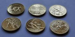 Польша, 2 злотых. Набор Олимпиады - 6 монет