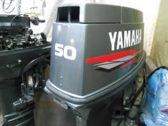 Yamaha. 50,00л.с., 2х тактный, бензин, нога L (508 мм), Год: 2000 год