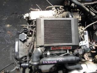 Двигатель в сборе. Ford Transit, TT9 Toyota Starlet, EP91, EP82 Двигатель 4EFTE