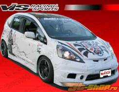 Обвес кузова аэродинамический. Honda Fit