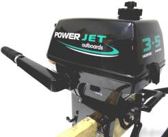 Power Jet. 3,50л.с., 2-тактный, бензиновый, нога S (381 мм), Год: 2015 год