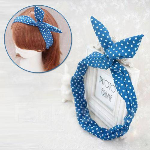 Ободки для волос тканевые
